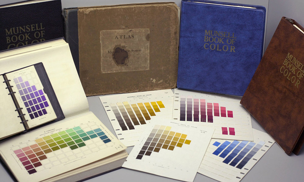 "Collection of the Munsell Book of Color ""Defining, Explaining, and Illustrating the Fundamental Characteristics of Color."" Munsell Book of Color 1929"